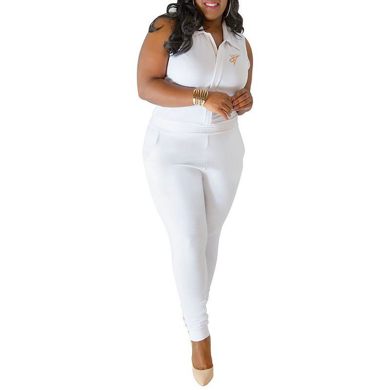 7cbe6c2688 Poetic Justice Curvy French Terry Jumpsuit - Plus | Products ...