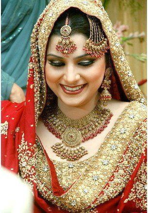 Beautiful Bride with amazing smile