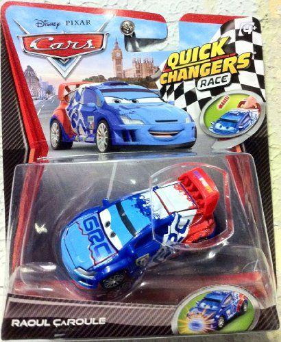 Disney Pixar Cars 2 Movie 155 Quick Changers Race Raoul Caroule