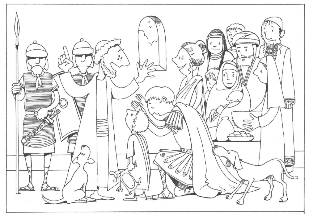 Beautiful Peter Cornelius Coloring Pages (With images