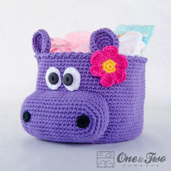 nilpferd h keln korb pdf crochet pattern von oneandtwocompany h keln. Black Bedroom Furniture Sets. Home Design Ideas