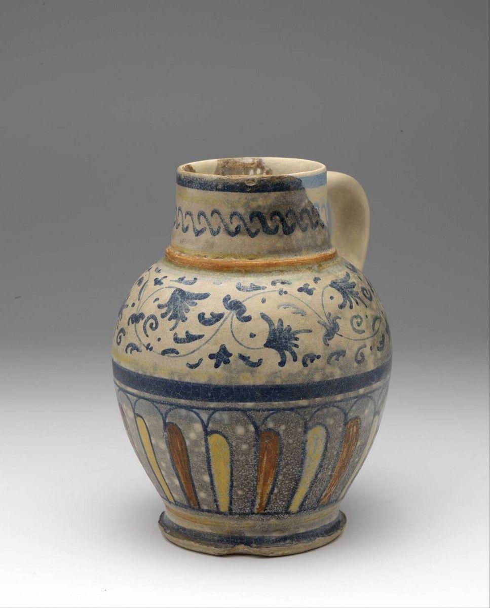 Jug Anonymous 1500 1600 Museum Boijmans Van Beuningen Pottery Jugs Medieval Crafts Vintage Pottery