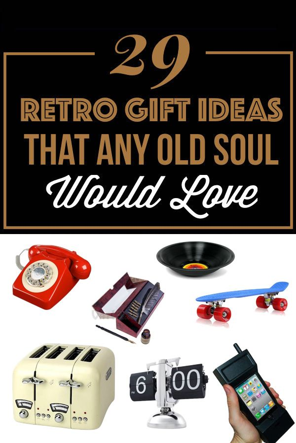 Retro gift ideas for old souls all amazing gift lists pinterest retro gift ideas for old souls negle Images