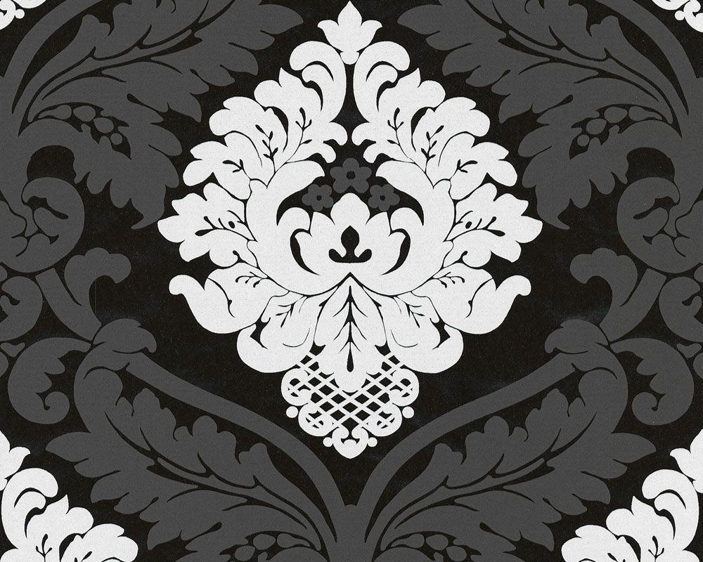Tolle Tapeten Schwarz Weiss Grau Kumaslar Pinterest