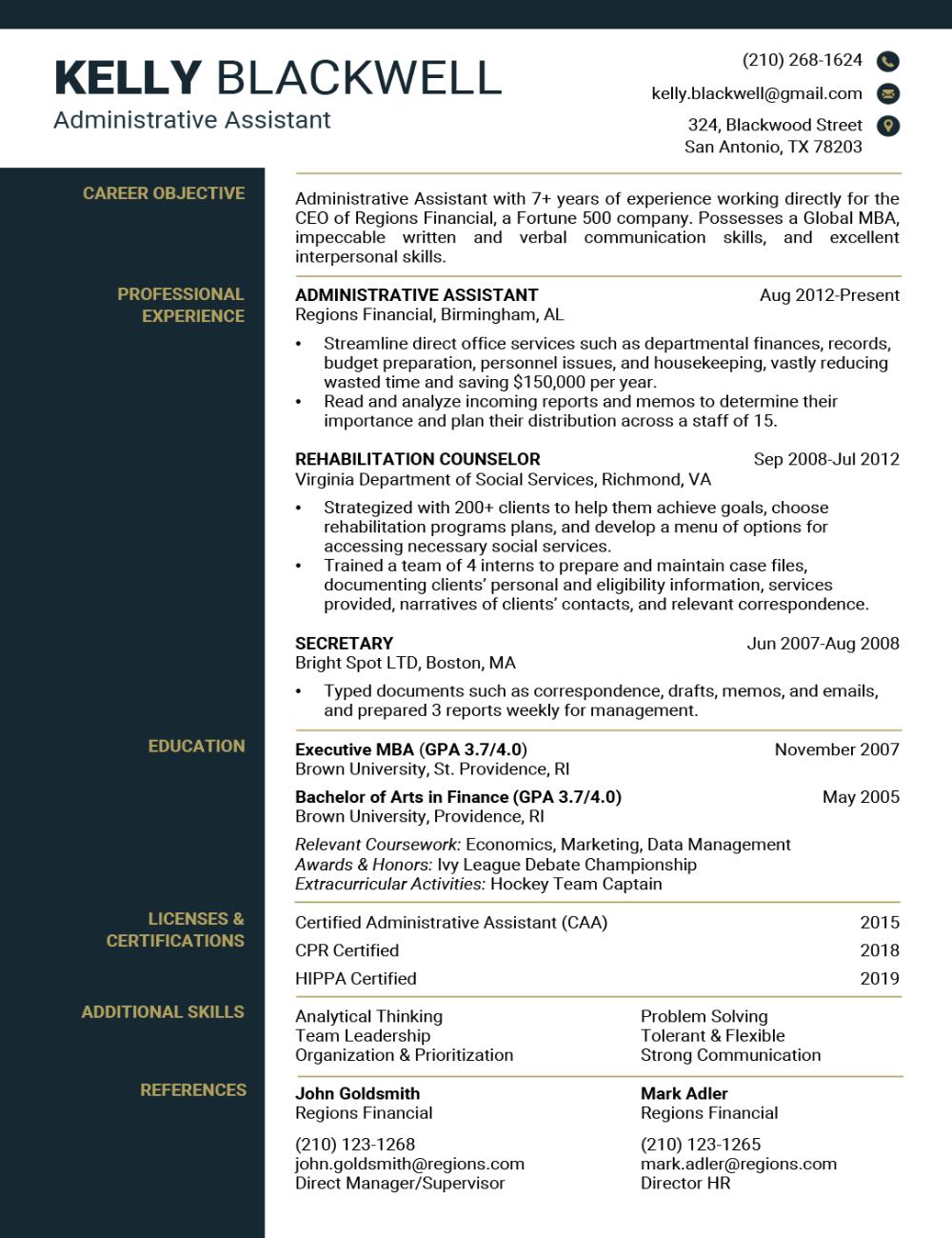 Resume Builder in 2020 Free resume template word, Best