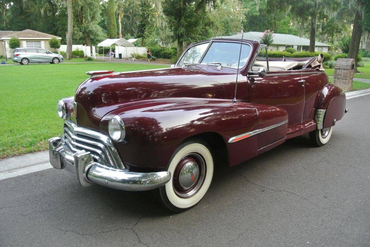 1947 Oldsmobile 66 Convertible Oldsmobile, American