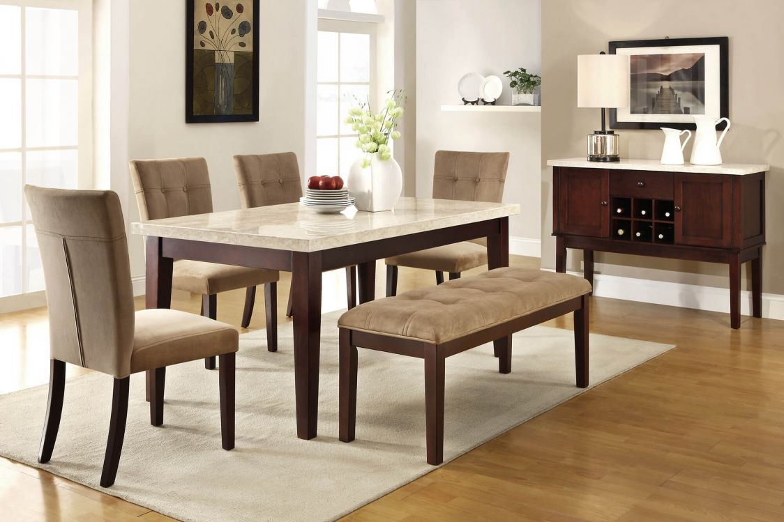Kitchen Table Sets With A Bench