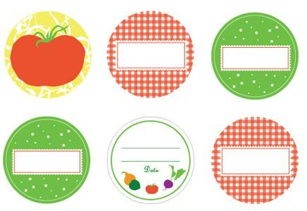 Freebie Alert Free Canning Lid Printable Labels Pinterest Jar