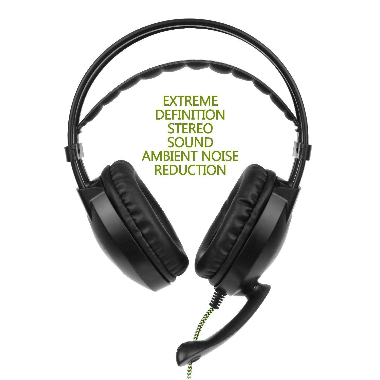 Mic for PC Phone PS4 3.5mm Surround Stereo Gaming Headset Headband Headphone