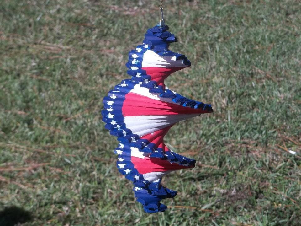 Wind Spinners Plastic Spiral