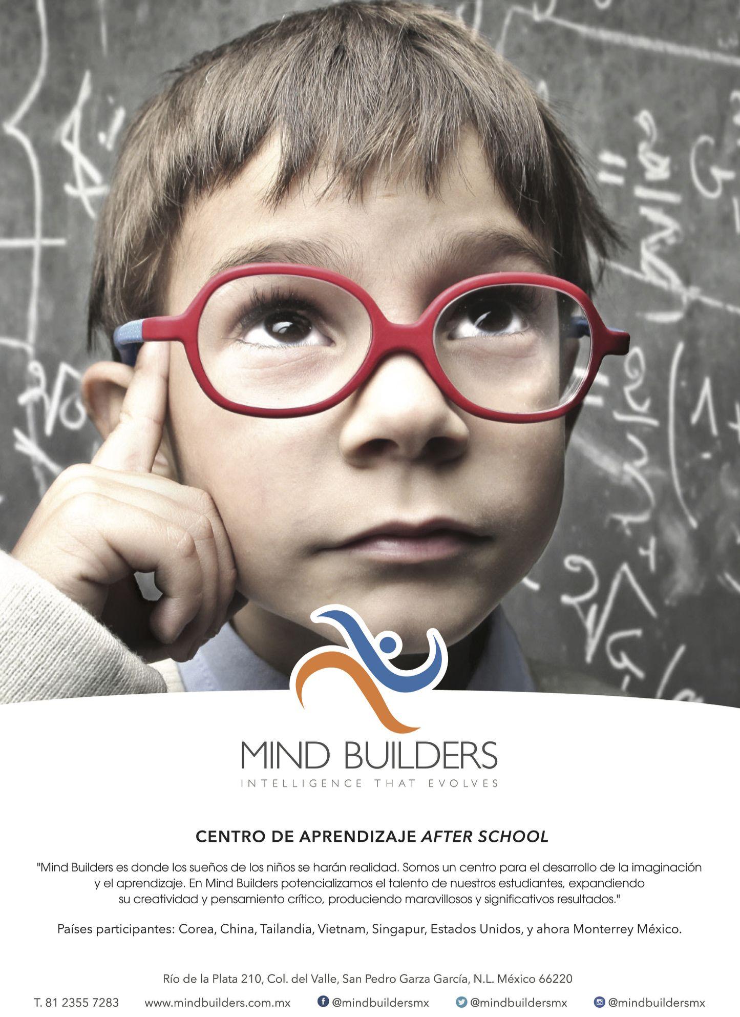 Mind Builders es donde los sueños de los niños se harán realidad.