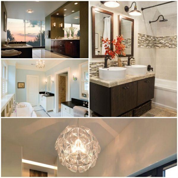 Lampe Badezimmer - die richtige Beleuchtung für Ihr Badezimmer ...