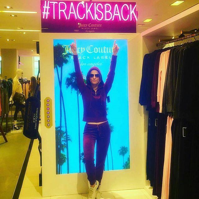 Track is back and @bjaffe216 knows it! #TRACKISBACK @bloomingdales #100PercentBloomies