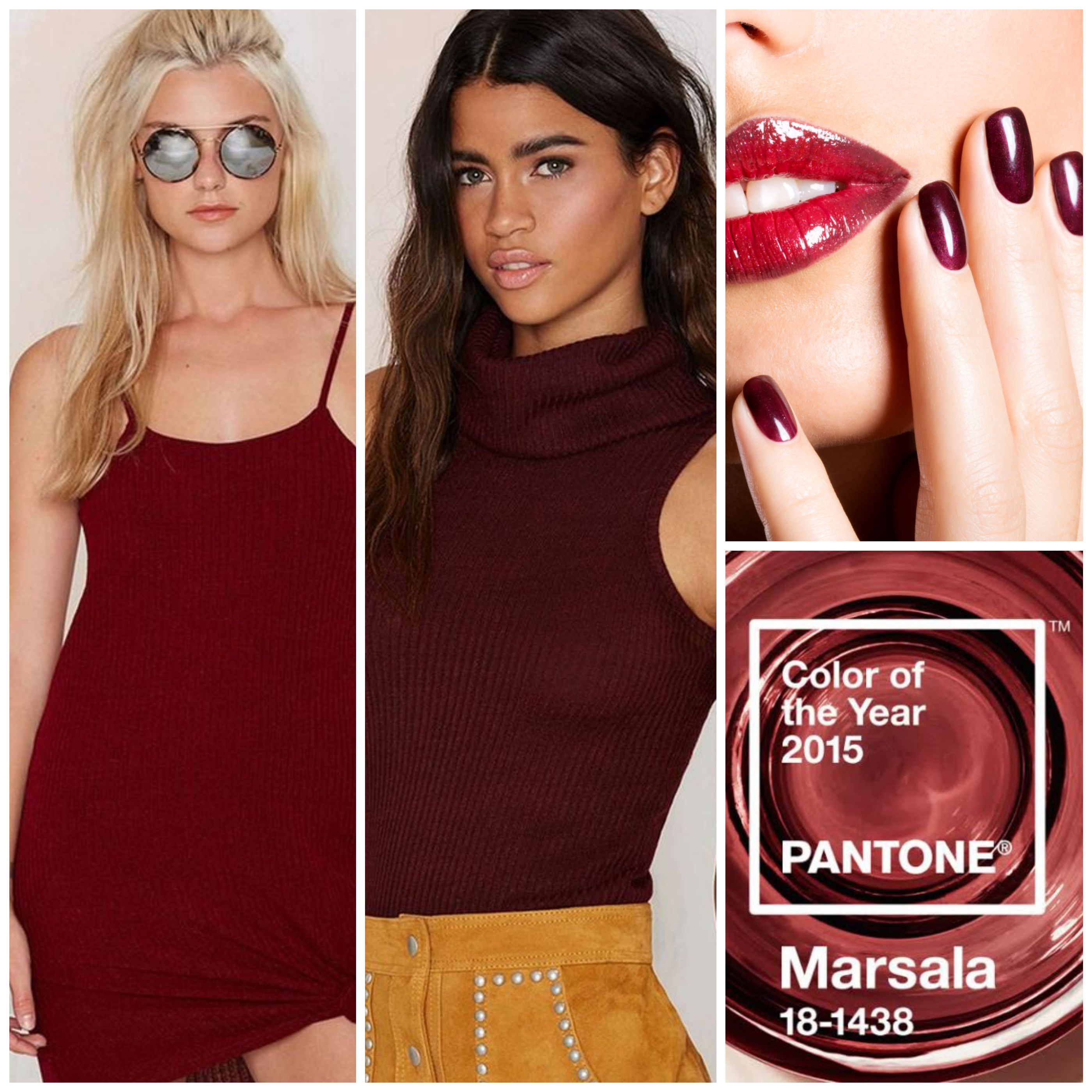 Marsala Pantone. Color of the year 2015