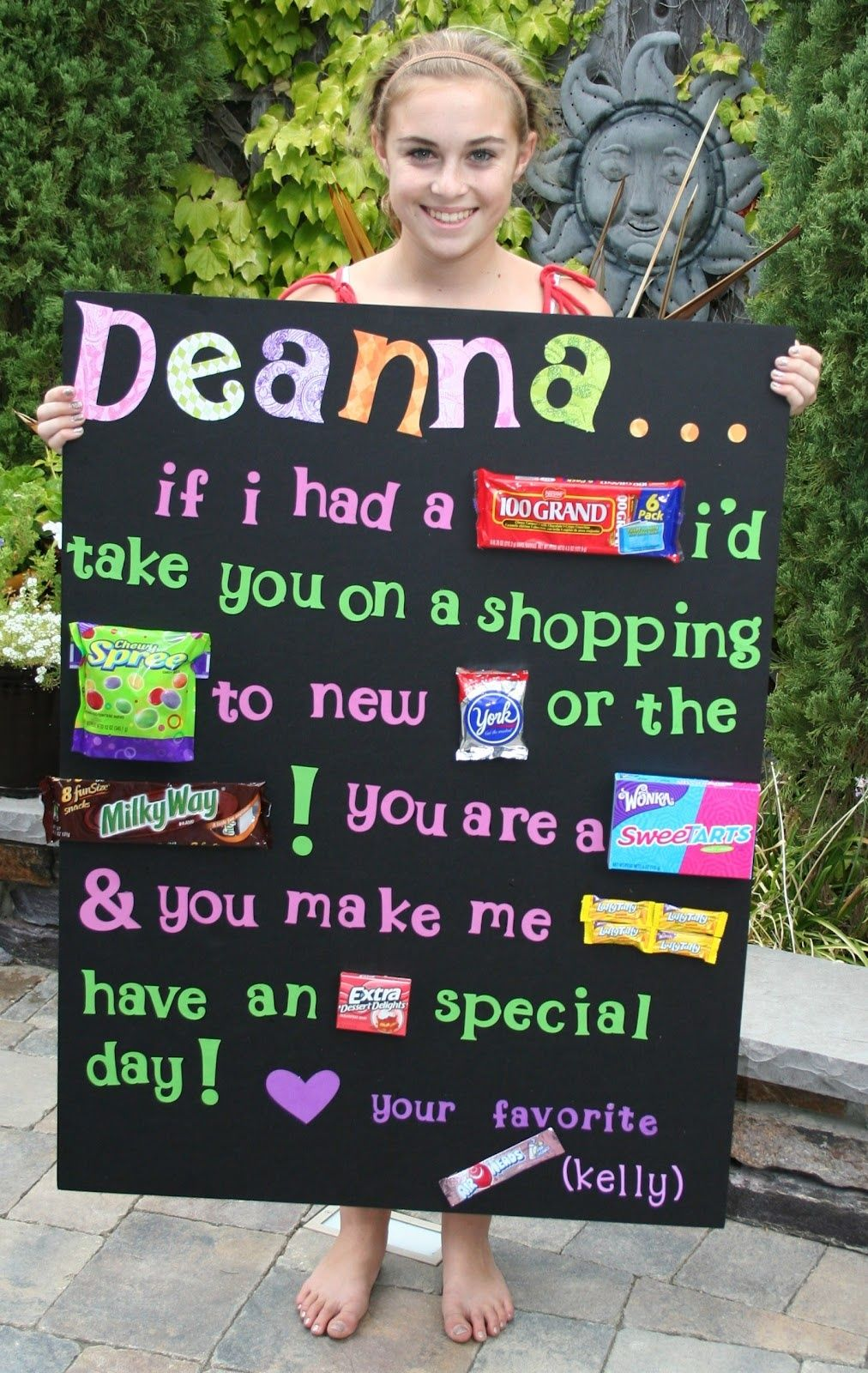 a place to share my stuff  birthday candy posters birthday gifts for best friend candy poster