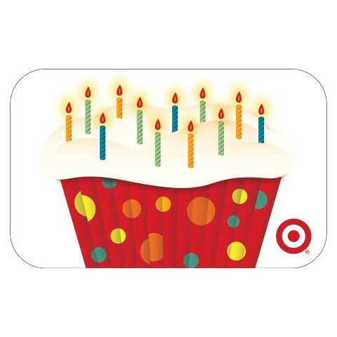 Shoppingspout - Cupcake with Candles GiftCard