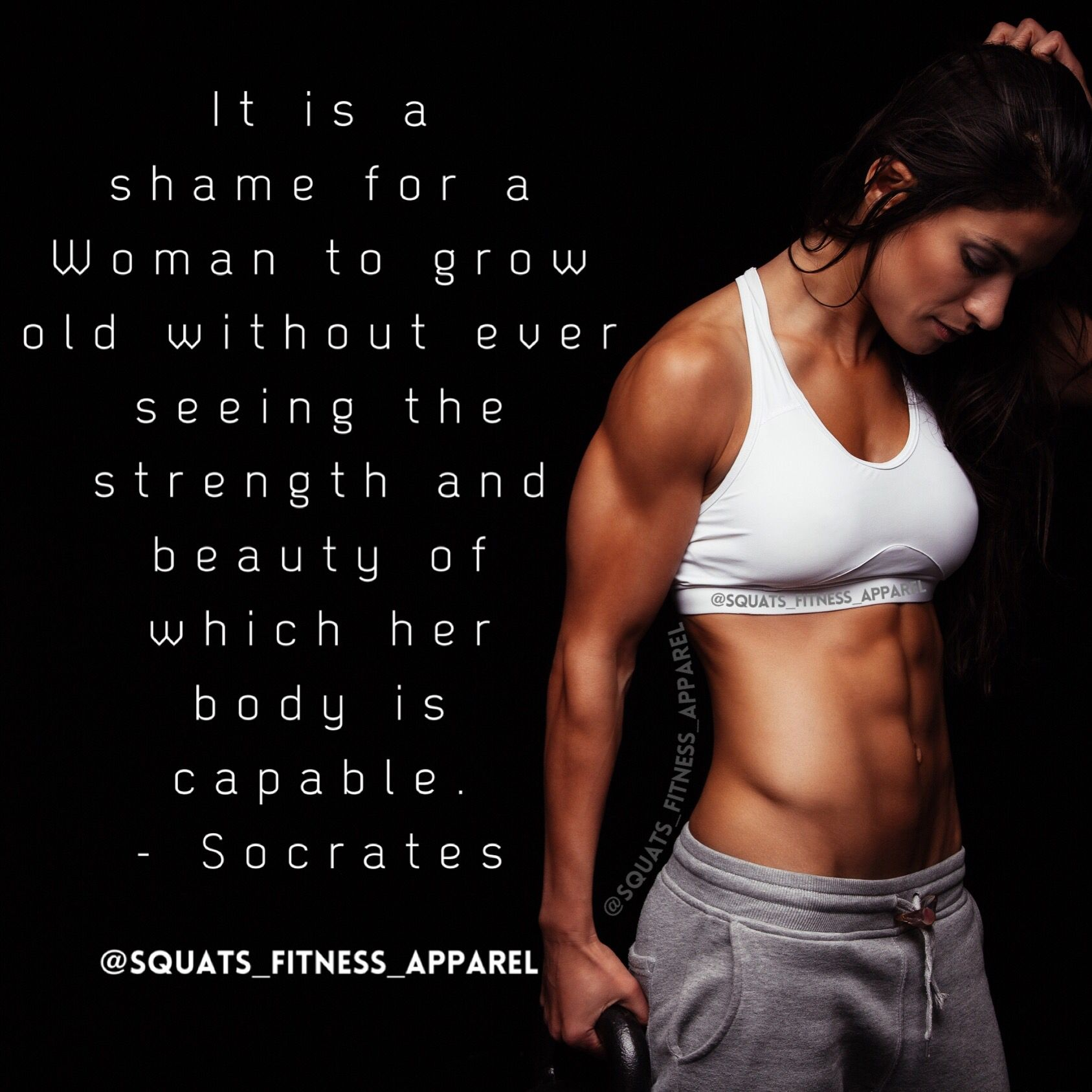 The Strength And Beauty Of Which Her Body Is Capable Of Fitness Motivation Quotes Fitness Inspiration Quotes Fitness Motivation Pictures