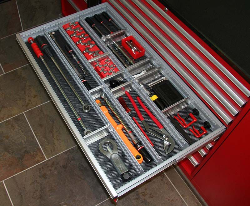 who has a full socket set up and how is it organized the garage journal board organized. Black Bedroom Furniture Sets. Home Design Ideas