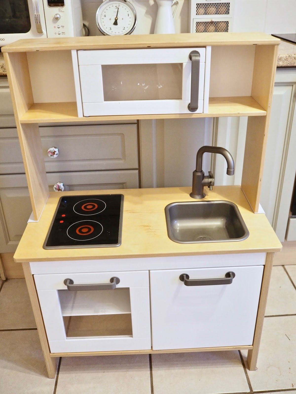 Ikea Duktig play kitchen makeover (With images) Play