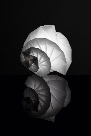 """Award Winning """"IN EI ISSEY MIYAKE"""" Lamps Made from Ecological..."""