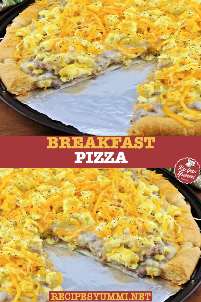 Photo of [EASY]: Breakfast Pizza