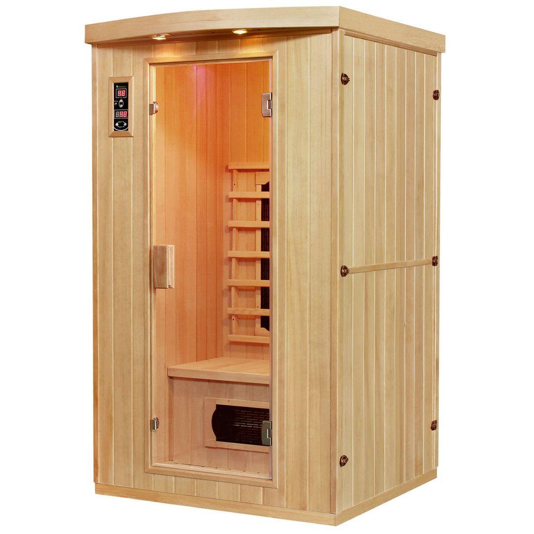 Die Ausstattung der Wärmekabine für 1 2 Personen