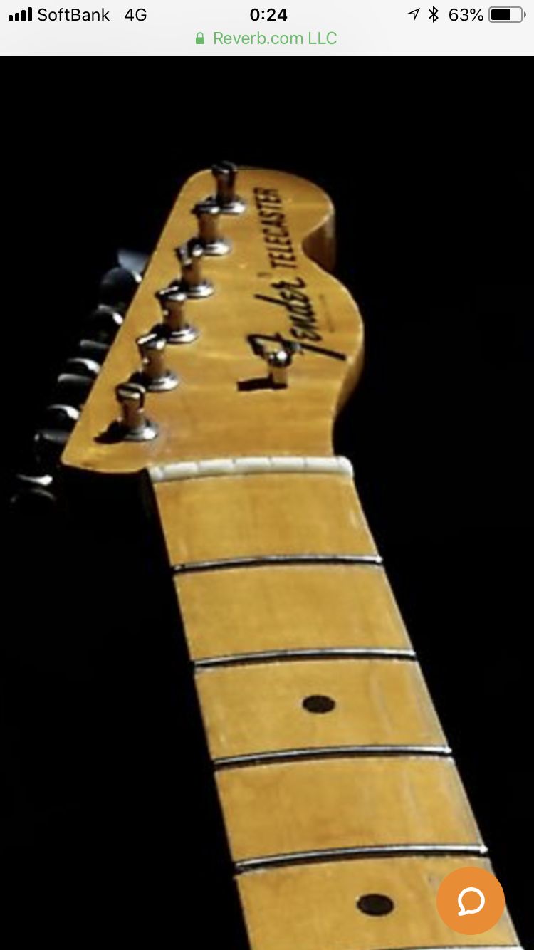 Incredible 1968 Fender Telecaster Neck Rare Maple Cap Jimi Hendrix S Favorite Tone Choice Rare Flame Maple Incredi Telecaster Neck Telecaster Guitar Design