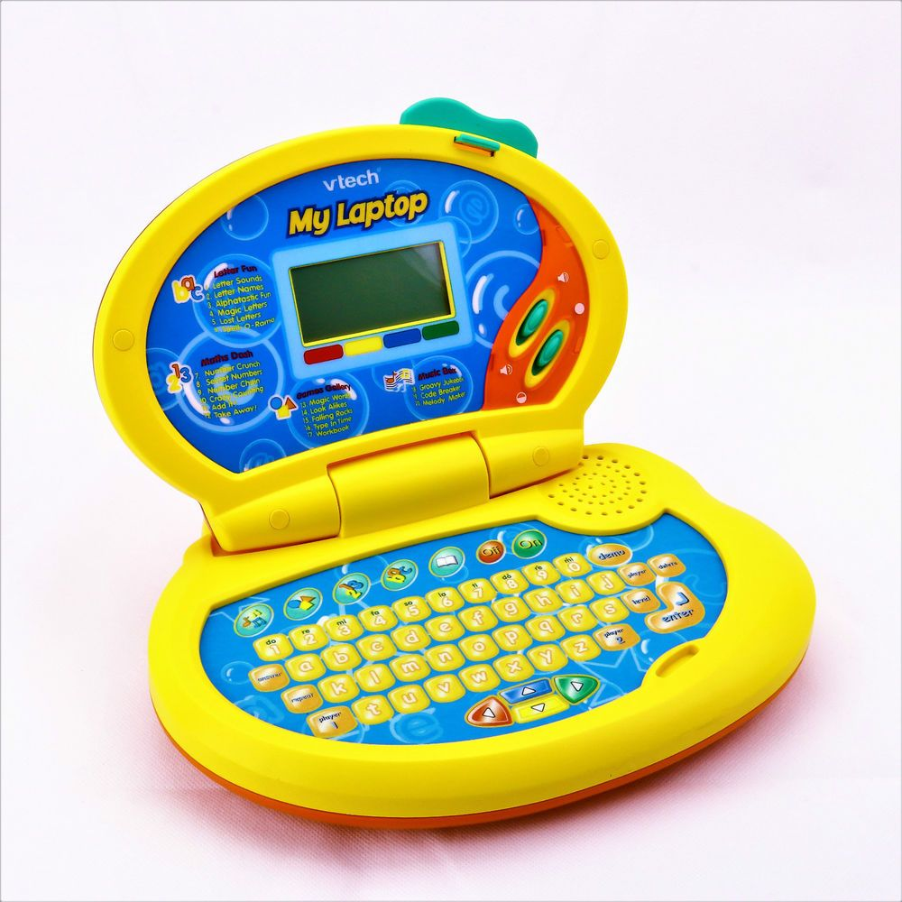 VTECH MY LAPTOP COMPUTER LEARN LETTERS NUMBERS GAMES
