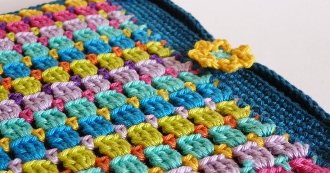 Franciens haakwerk: Block Stitch - Cover for my tablet