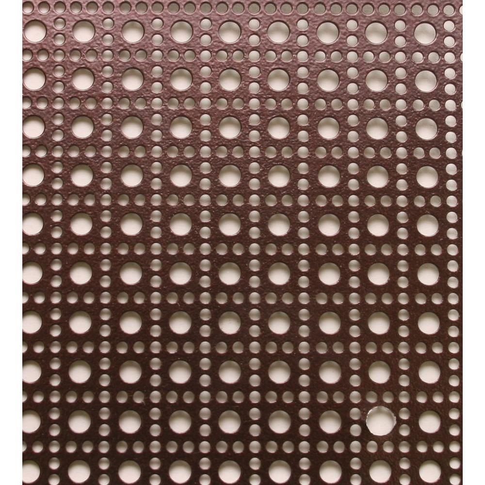 Md Building Products 3 Ft X 3 Ft Aluminum Venetian Bronze Lincane Sheet 57015 At The Home Depot 32 Decorative Metal Sheets Aluminum Sheet Metal Metal Decor