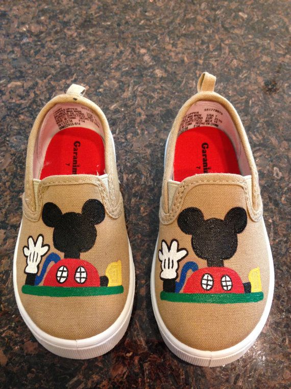 Mickey Mouse Clubhouse personalized hand painted by ...