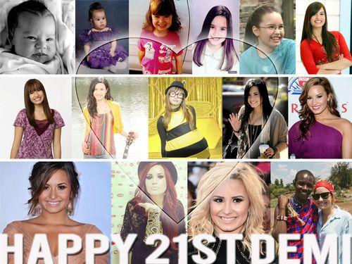 OMG i forgot her birthday! Happy Belated Birthday, Demi! #demilovato