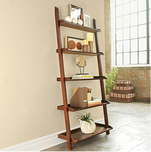 Steal Of The Day JCPenney Wide Leaning Bookshelf Leaning - Wide bookshelves