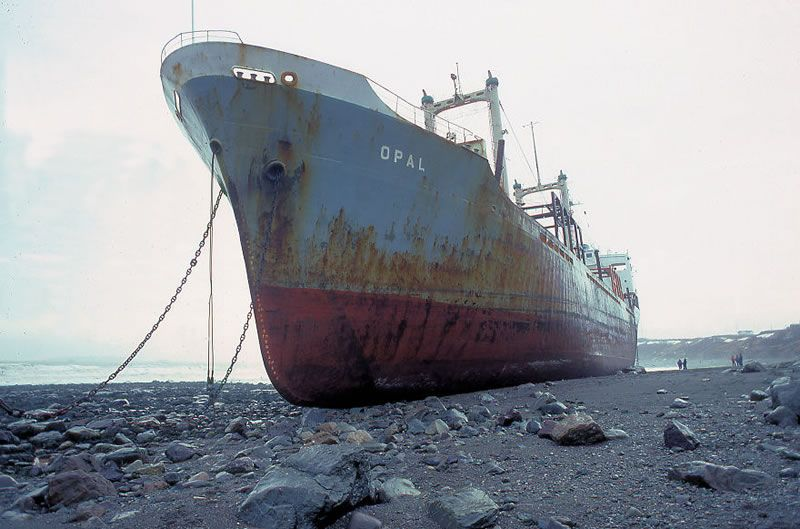 25 End Of The Line Ghostly Abandoned Ships Photos (shared via SlingPic)