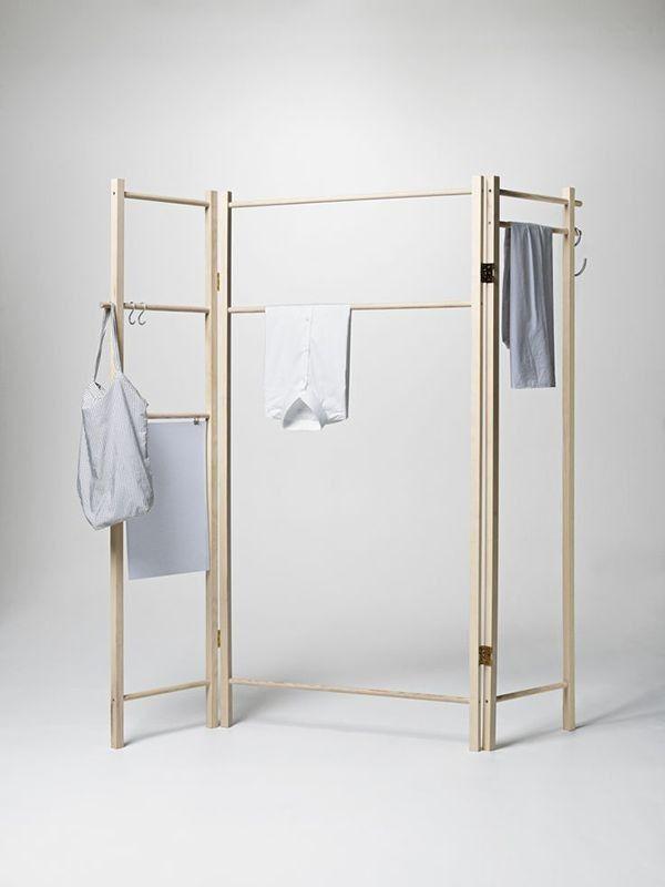 360 Degrees Foldable Garment Rack More