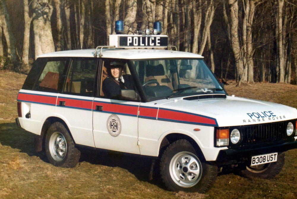 Northern Constabulary Range Rover B308ust In 1985 British Police Cars Police Cars Range Rover Supercharged