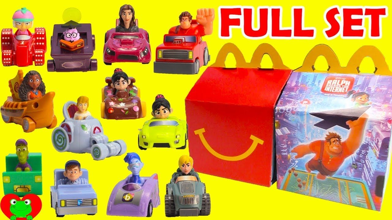 2018 Ralph Breaks The Internet Movie Mcdonald S Happy Meal Toys Full Set Happy Meal Toys Happy Meal Mcdonalds Internet Movies
