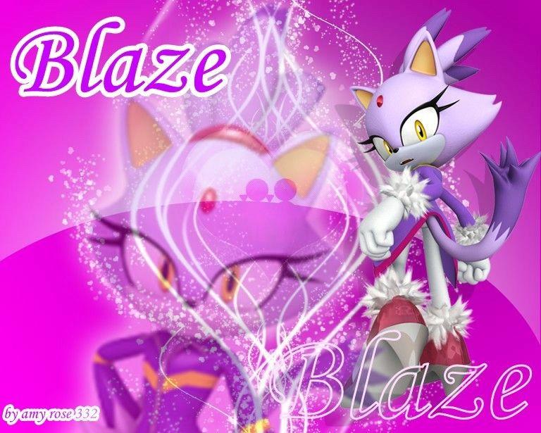 Blaze the cat