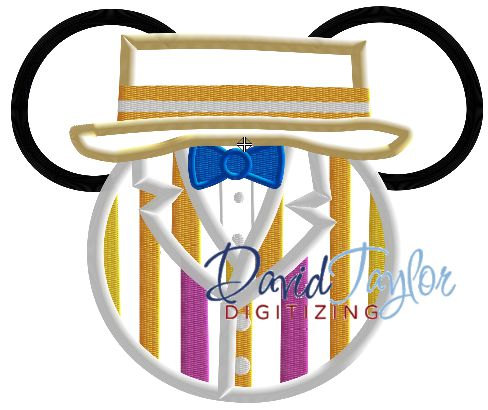 530d0ac482222 Mickey Head - Mary Poppins - Bert - Embroidery Machine Design ...