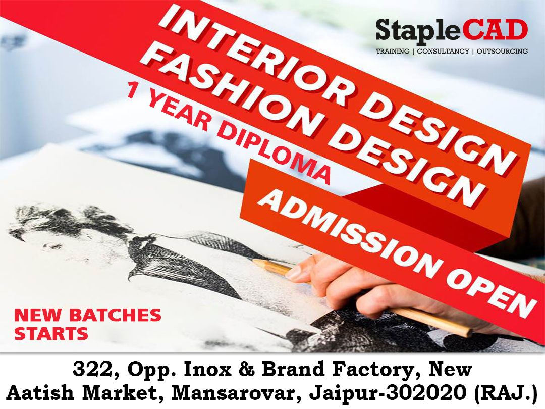 1 Year Diploma In Fashion Design And Interior Deisgn Admission Open New Batches Start From March Re In 2020 Diploma Design Diploma In Fashion Designing Design Course