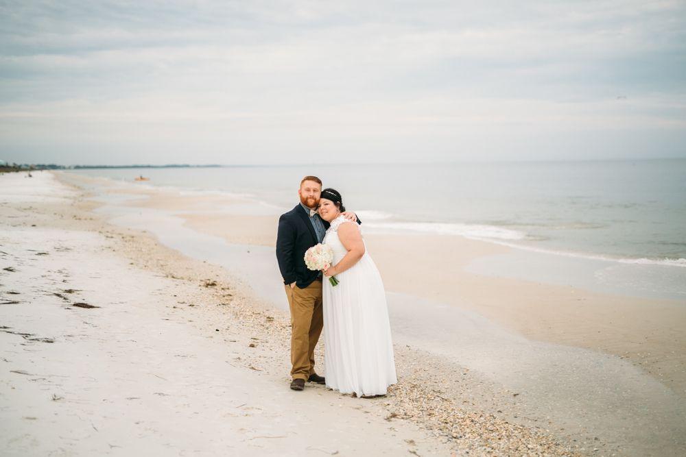 Beach Florida Wedding Julia Fenner