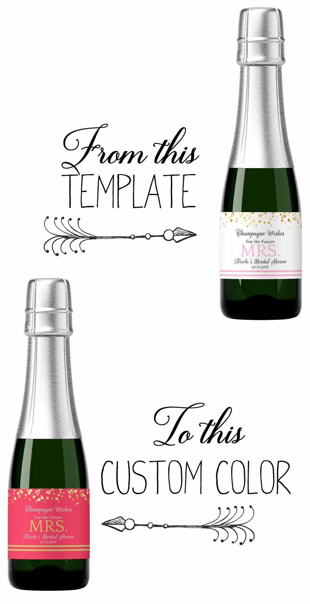 Liquor Bottle Labels Template Lovely How To Make A Custom Label From A Template Step By St Wine Label Template Wine Bottle Label Template Bottle Label Template Mini liquor bottle label template