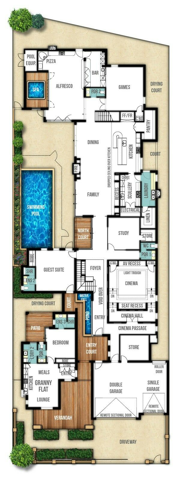 Awesome 1st Floor With A Few Modifications Floor Plans Storey Homes How To Plan
