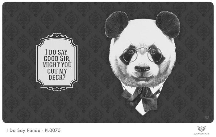 I Do Say Panda Playmat Playmat Sayings Panda
