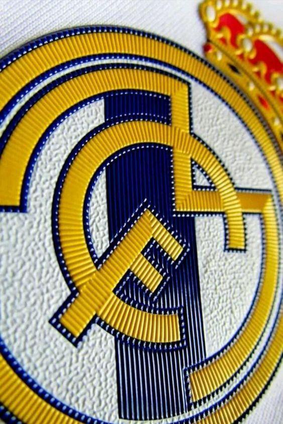 Real Madrid Close Up Logo