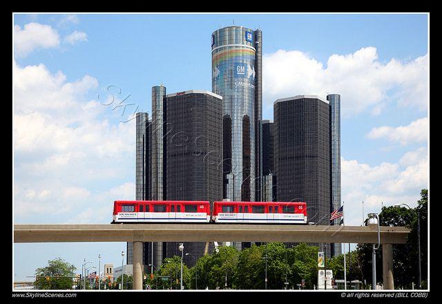 General Motors Headquarters Detroit Michigan Michigan General