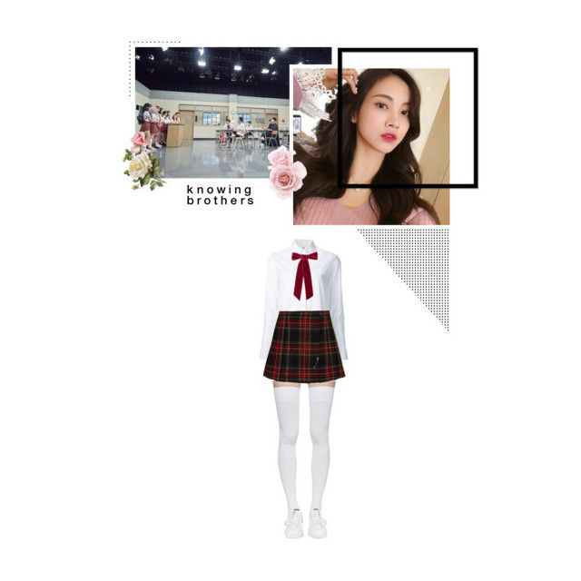 """""""ᵒ moonwake : knowing brothers ᵒ"""" by jungdawon ❤ liked on Polyvore featuring Misha Nonoo, Marieyat, Yves Saint Laurent, adidas and Jennifer Behr"""