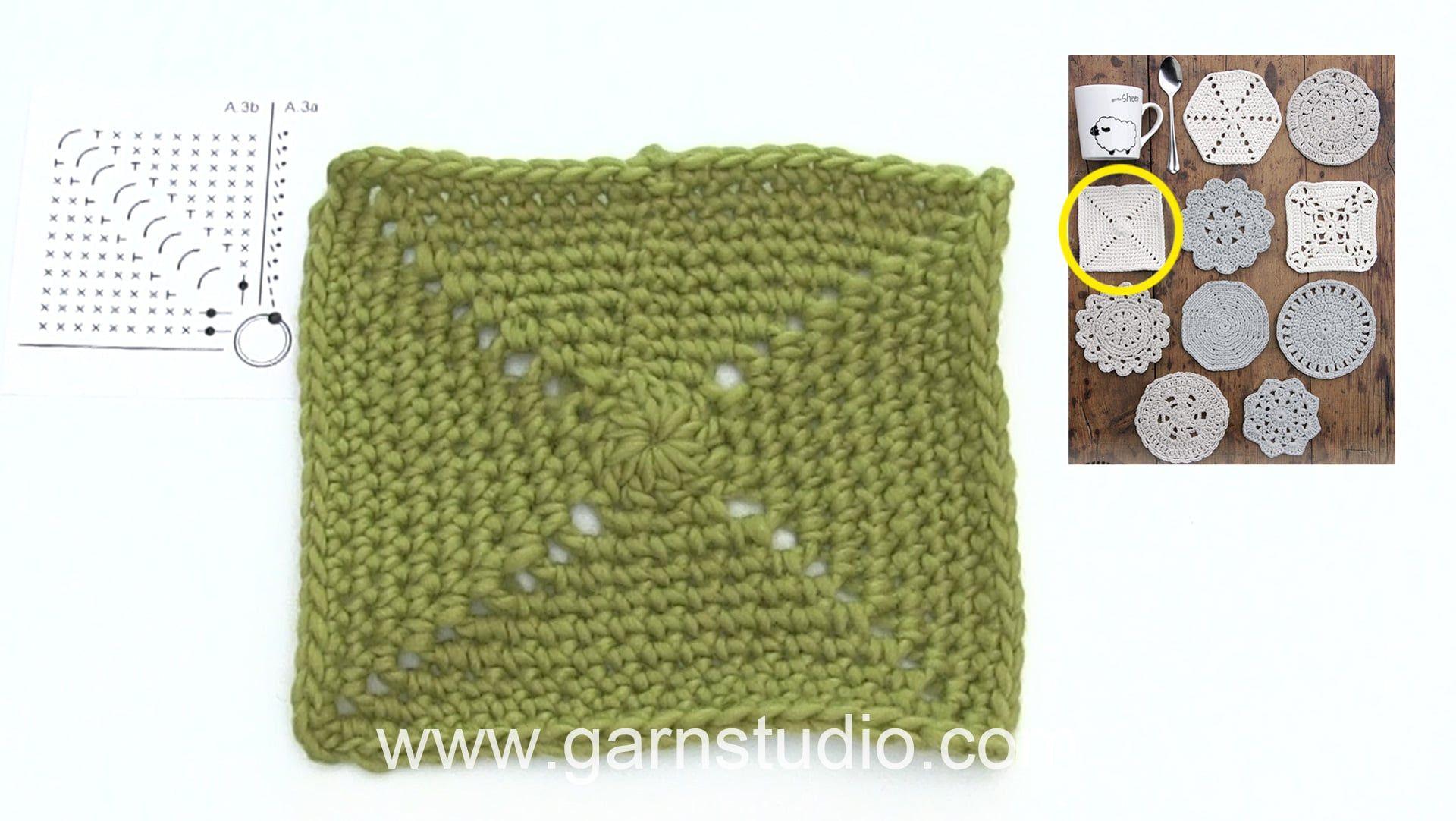 How To Crochet A Coaster Free Crochet Pattern Drops Extra 0 1403