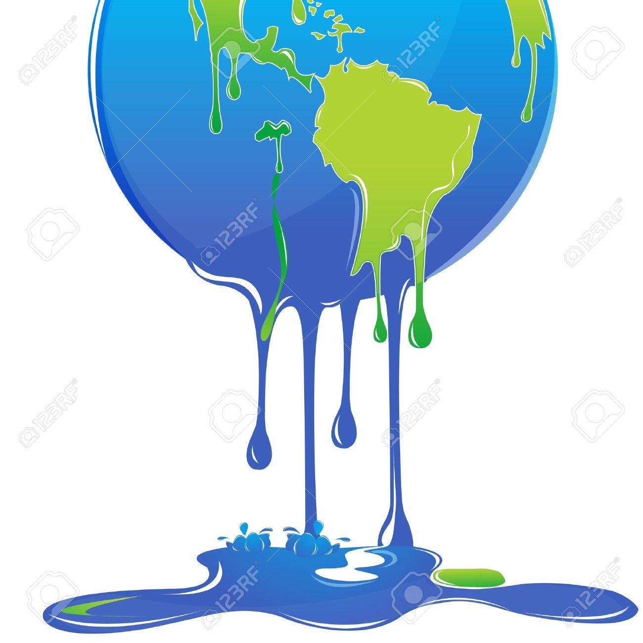 Global Warming Cartoon Earth Melting Global warming ...