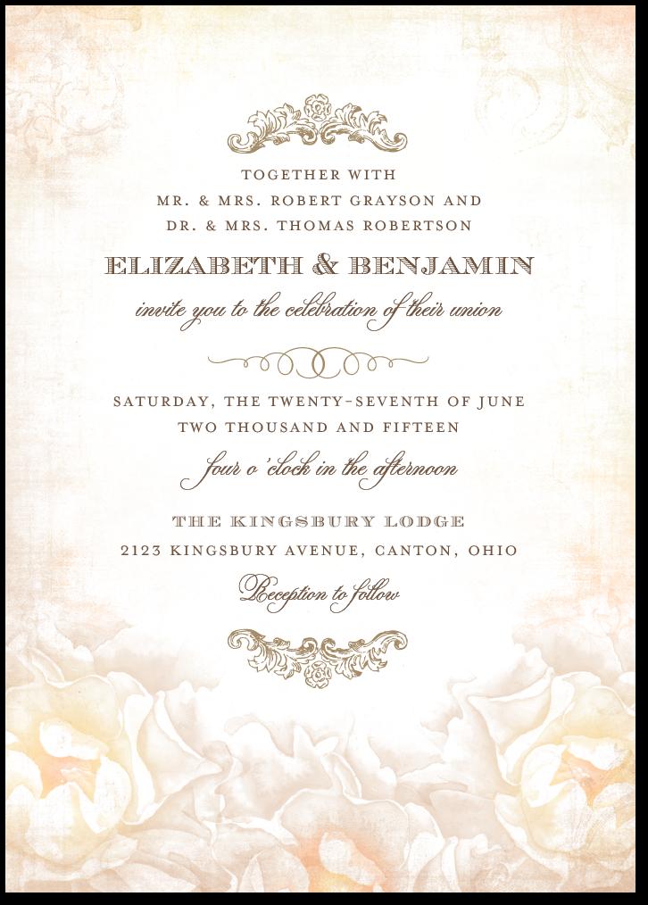 invitation looks